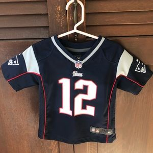 Official Patriots NFL jersey; excellent condition